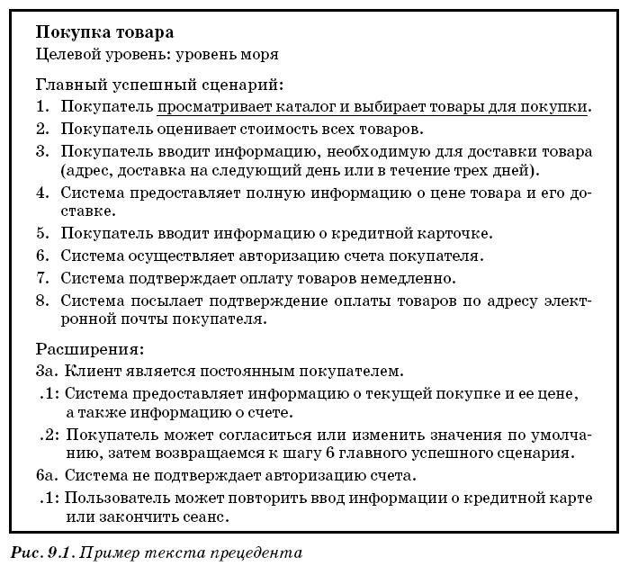 Диаграмма прецедентов (вариантов использования системы) UML